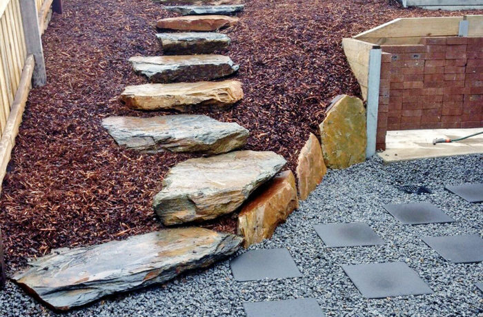 Rock and Granite Steps