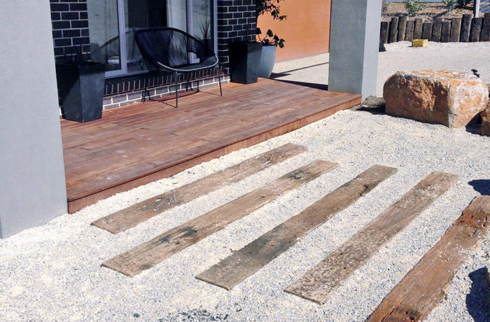 Wood Steps 3