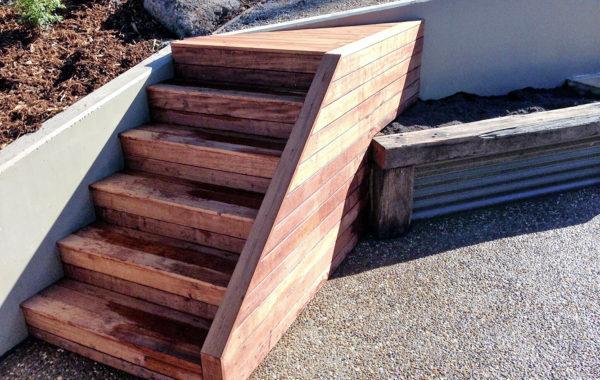 Wood Steps 1