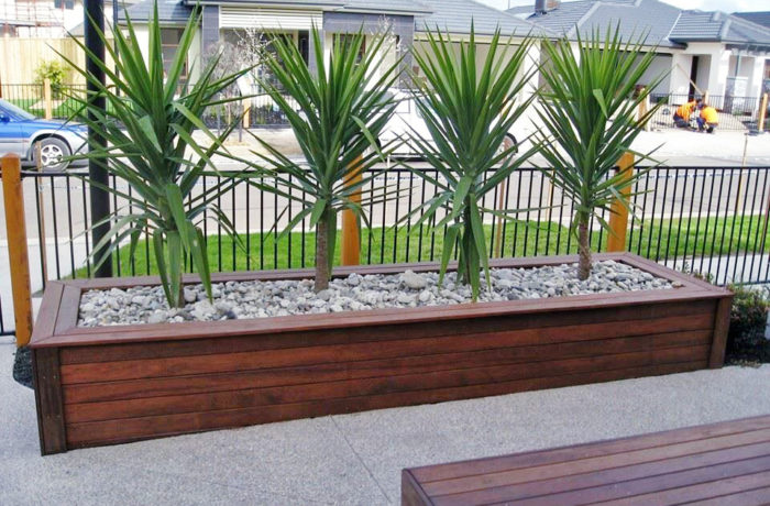 Timber Planter Boxes 2